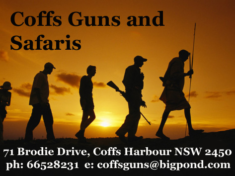 Coffs Guns and Safaris – click to zoom.
